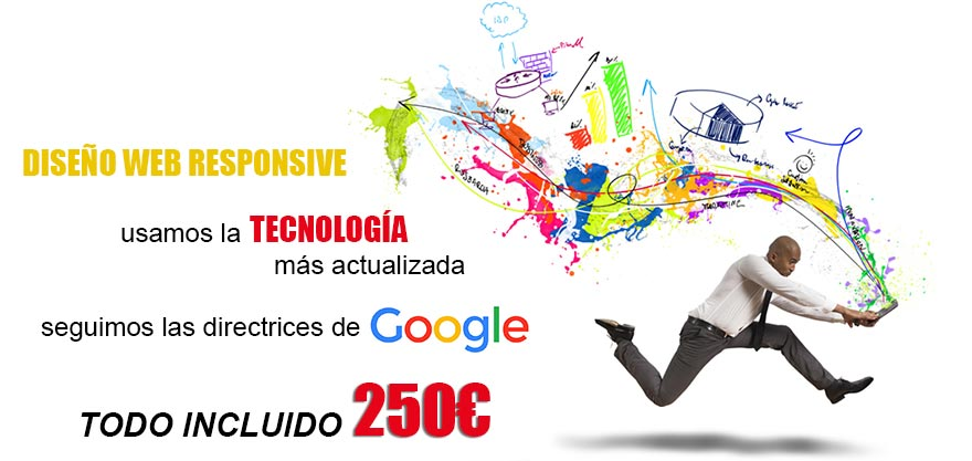 Diseño pagina web empresa y profesionales Murcia